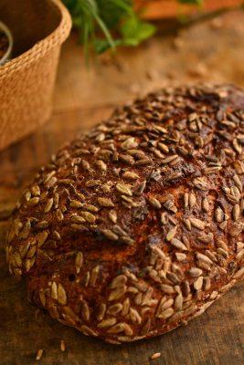 ひまわり種のパン